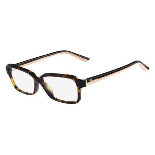 Okulary korekcyjne  sf 2680 214 marki Salvatore ferragamo