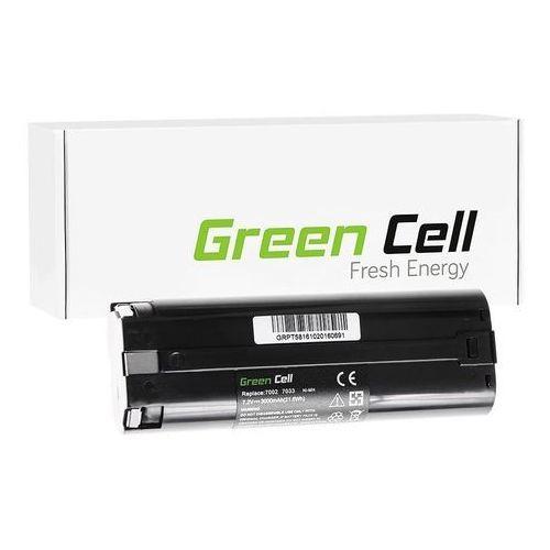 Makita 3700d / 7000 3000mah ni-mh 7.2v () marki Greencell