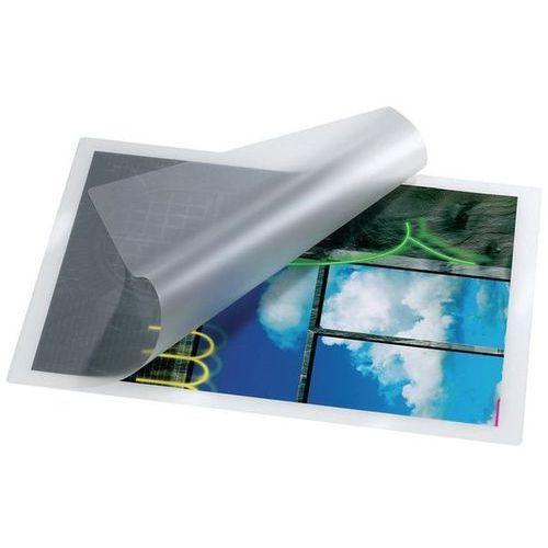 Unbekannt Folia do laminacji błyszcząca, antystatyczna 65x95mm 2x125 mic, opakowanie 100 szt.