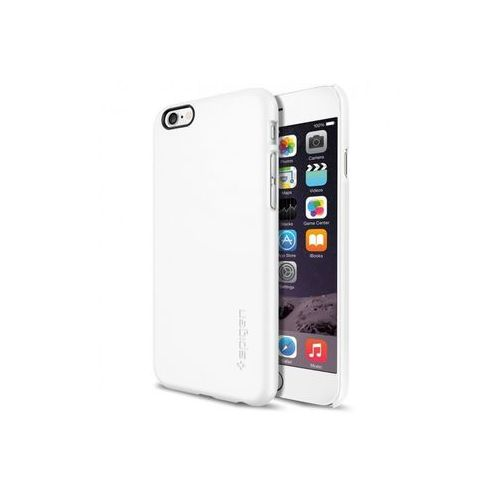 Apple iPhone 6s - etui na telefon Spigen Thin Fit - Shimmery White, kolor biały