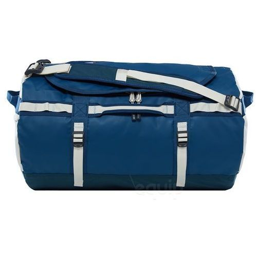 Torba podróżna base camp duffel s ne - blue wing teal / vintage white marki The north face
