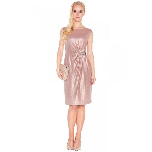 Sukienka z metalową aplikacją - Vito Vergelis