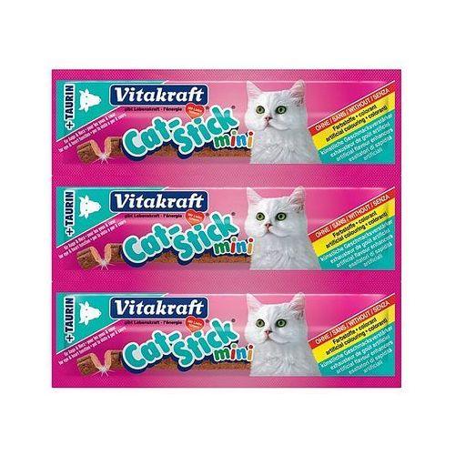 VITAKRAFT Cat stick mini 3 szt. przysmak łosoś- RÓB ZAKUPY I ZBIERAJ PUNKTY PAYBACK - DARMOWA WYSYŁKA OD 99 ZŁ, 3863 (1913896)