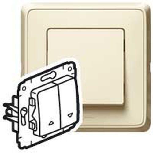 Legrand cariva przycisk sterowania roletami krem 773714