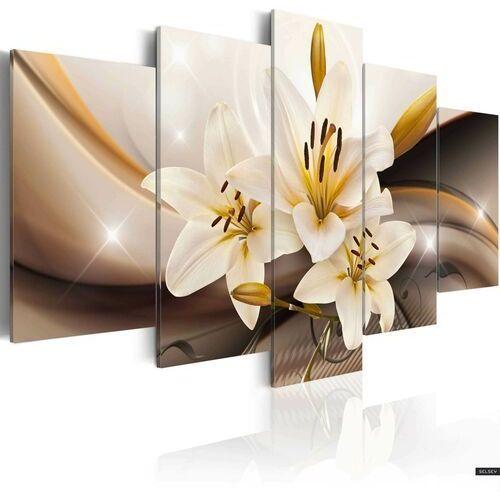 Selsey obraz - lśniąca lilia 100x50 cm (5902409993219)