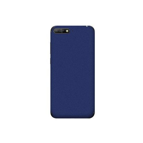 Huawei Y6 Prime (2018) - folia na tył 3MK Ferya SkinCase - Night Blue Matte, kolor niebieski