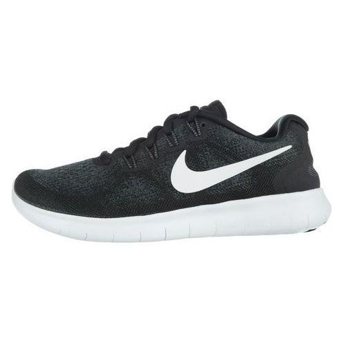 Nike Free RN 2017 Sneakers Czarny Szary 39, kolor czarny