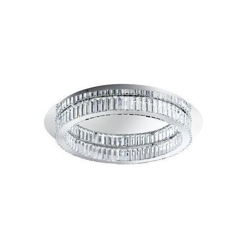 Plafon corliano 39014 lampa sufitowa kryształowa 1x36w led 4000k chrom marki Eglo