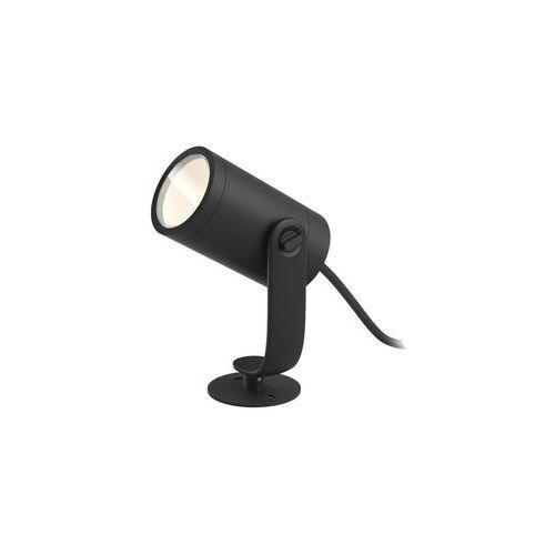 Reflektor ogrodowy LILY HUE IP65 czarny aluminium LED PHILIPS