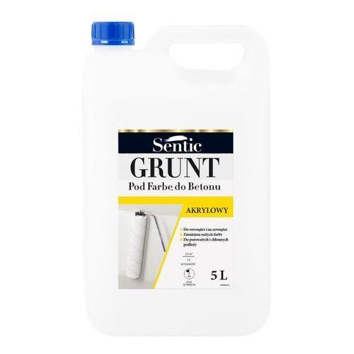 Sentic Grunt pod farbę do betonu biały 5 l (5903649050083)