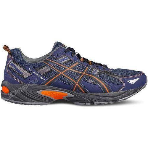 Męskie buty t5n3n-4930 venture 5 granatowy / pomarańczowy 44 marki Asics