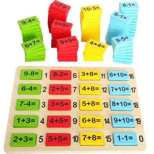 Matematyka to zabawa - zabawka edukacyjna dla dzieci, nauka liczenia (4020972107169)