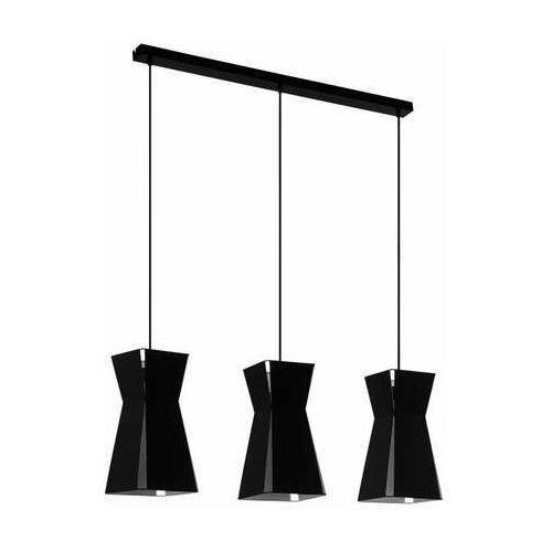 Eglo valecrosia 99083 lampa wisząca zwis 3x40w e27 czarna/biała (9002759990831)
