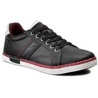 Sneakersy GINO LANETTI - MP07-16373-02 Czarny, w 3 rozmiarach