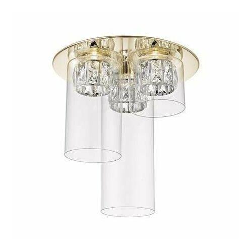 C0389-03f-f7ac gem lampa sufitowa 3-ka złoty, c0389-03f-f7ac marki Zuma line