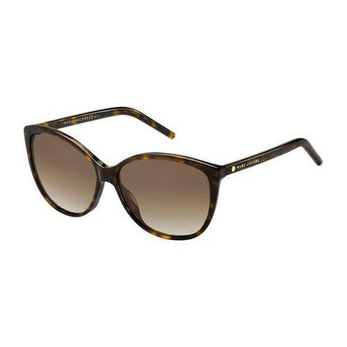 Okulary słoneczne marc 69/s polarized 086/la marki Marc jacobs