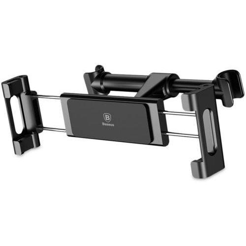 Baseus Backseat uchwyt samochodowy na zagłówek czarny - Czarny (6953156261358)