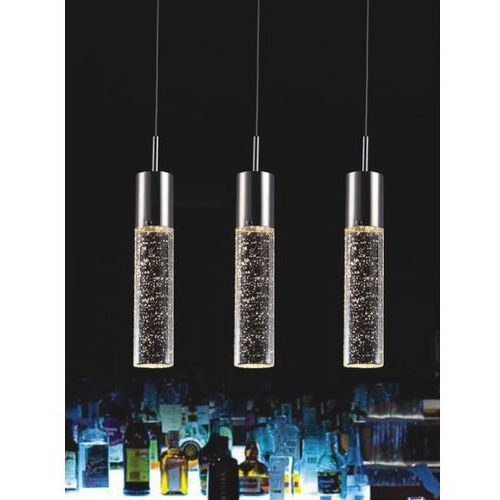 Lampa wisząca xylo potrójna, 9740-3p marki Italux