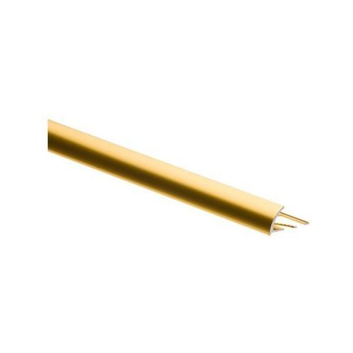 Easy line Profil wykończeniowy zewnętrzny polokrągły aluminium (5904584889363)