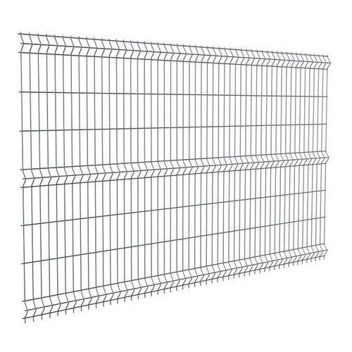 Panel ogrodzeniowy Polargos Sparta50 153 x 250 cm oczko 5 x 20 cm ocynk antracyt (5902360114760)
