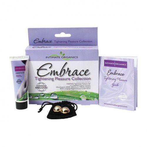 Intimate organics Zestaw ścieśniający pochwę - embrace tightening collection
