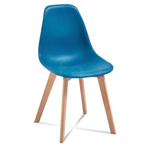 """Krzesło """"VITO"""" niebieskie"""