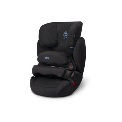 Cbx fotelik samochodowy aura cozy black - kolor czarny
