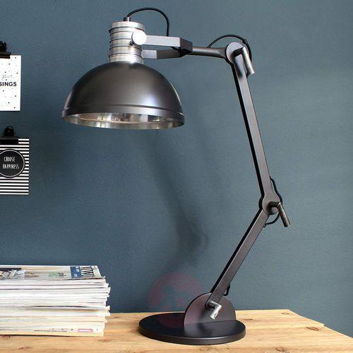 Steinhauer Brooklyn Lampa stołowa Czarny, 1-punktowy - Nowoczesny - Obszar wewnętrzny - Brooklyn - Czas dostawy: od 6-10 dni roboczych