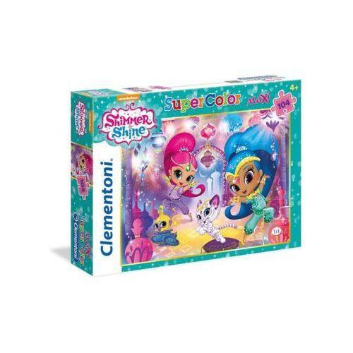 Clementoni 104 elementy maxi, shimmer i shine (8005125237050)