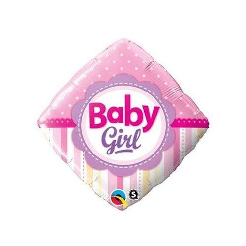 Go Balon foliowy baby girl - 46 cm - 1 szt.