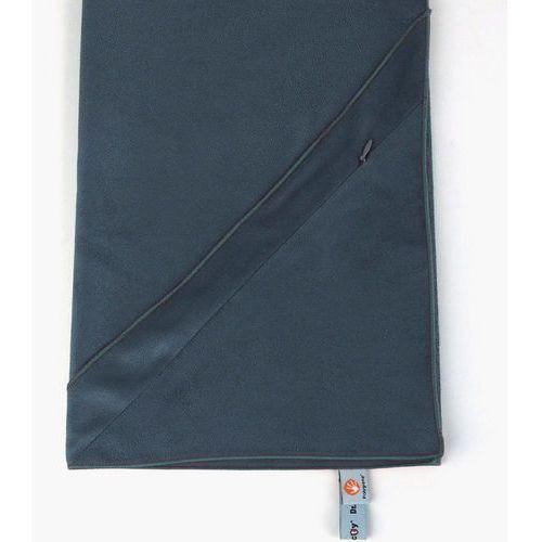 Ręcznik treningowy z kieszonką Dr.Bacty M ciemnoszary