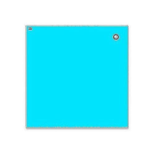 2x3 Tablica szklana magnetyczna suchościeralna 45x45cm niebieska tsz4545 n