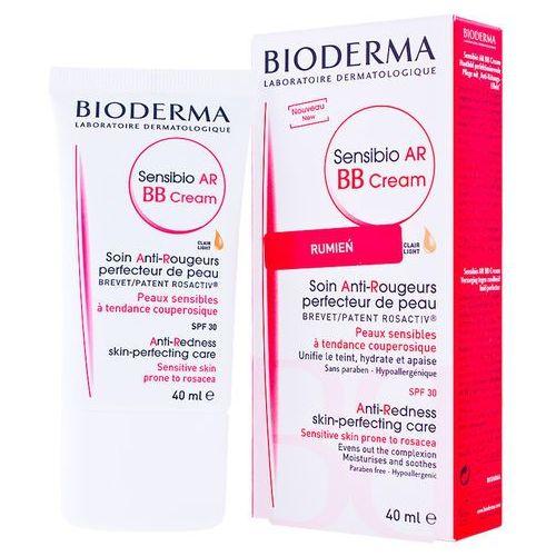 BIODERMA Sensibio AR BB CREAM Krem BB do skóry naczynkowej wrażliwej - na naczynka SPF30 40ml (3401351278051)
