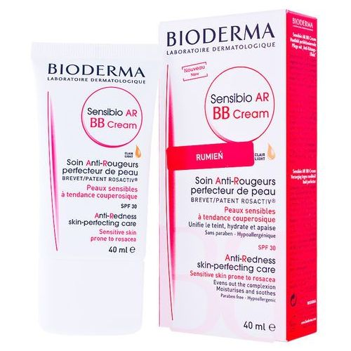 OKAZJA - BIODERMA Sensibio AR BB CREAM Krem BB do skóry naczynkowej wrażliwej - na naczynka SPF30 40ml (3401351278051)