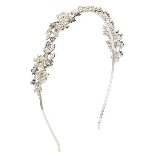 Phase eight  pearl and crystal headband