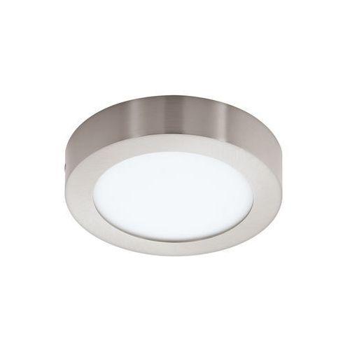 Plafon LAMPA sufitowa FUEVA 1 94523 Eglo natynkowa OPRAWA LED 11W okrągła nikiel satynowany, 94523