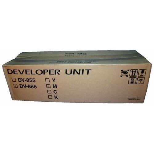 Kyocera-mita Wyprzedaż oryginał developer kyocera dv-865m do taskalfa 250ci/300ci | 300 000 str. | magenta, pudełko otwarte