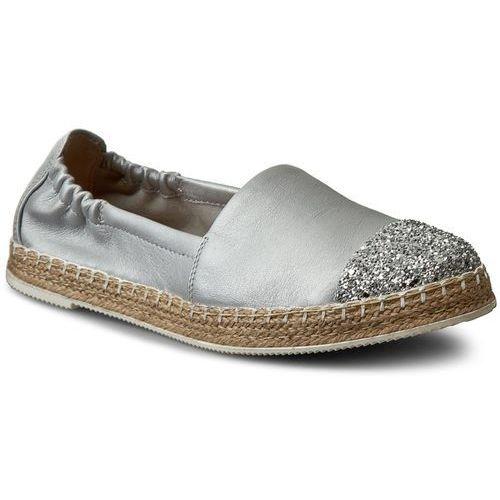 Espadryle - 098-c silver/srebrny pa, Neścior, 36-40