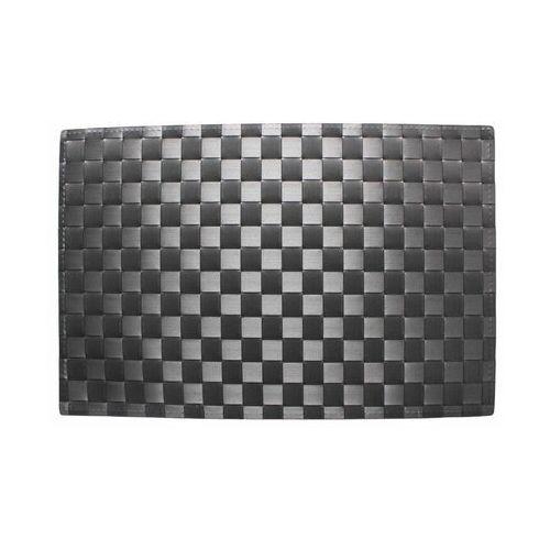 Podkładka na stół prism prostokątna 45 x 30 cm szara marki Uniglob