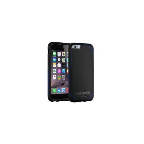 Etui  survivor journey iphone 6 / 6s, czarno-niebieskie wyprodukowany przez Griffin