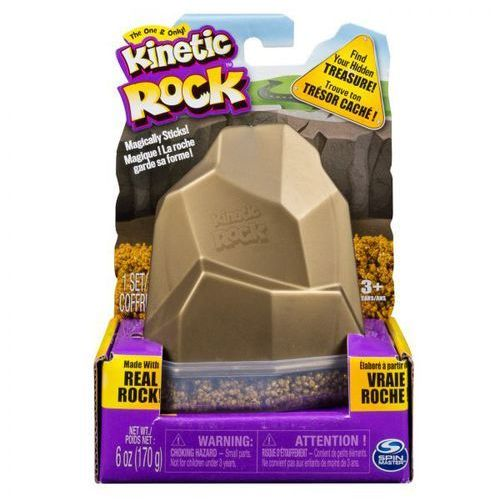 Kinetic Rocks Kamienie Kinetyczne Różne Spin Master Złoty