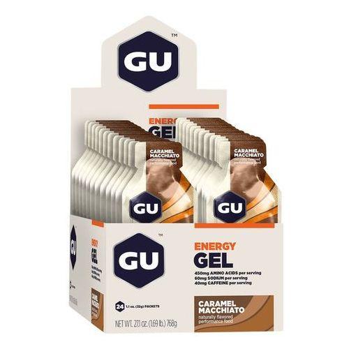 GU Energy Gel Żywność dla sportowców Caramel Macchiato 24x 32g 2018 Zestawy i multipaki