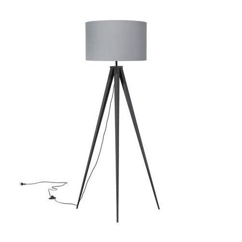 Beliani Lampa stojąca szara 156 cm stiletto (4260586355505)