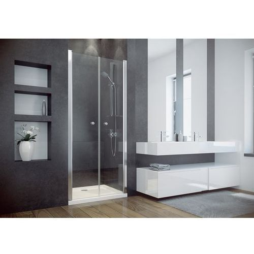 Besco Drzwi prysznicowe uchylne 80 cm sinco due (5908239686055)