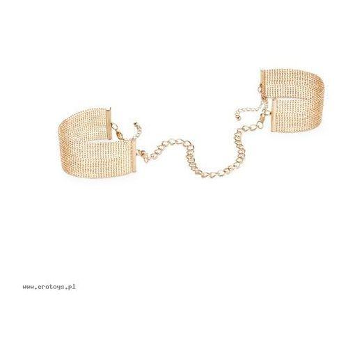 Biżuteria kajdanki - Bijoux Indiscrets Magnifique Handcuffs Gold (8437008003733)