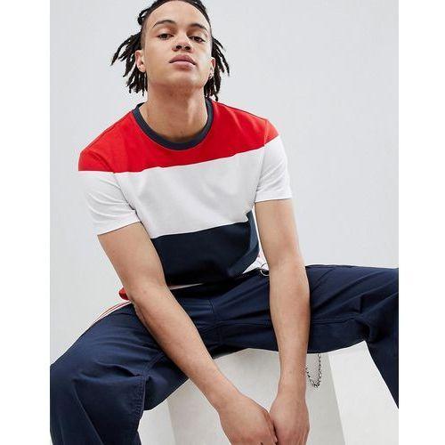 Weekday Tennis Pique Stripe T-Shirt - Black, kolor czarny