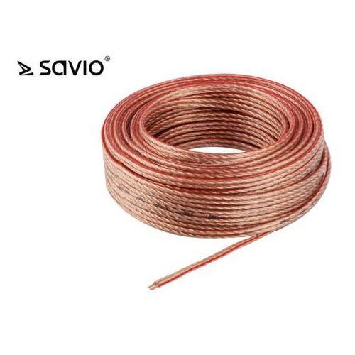 Kabel Savio CLS-01 ( PVC 10m linka głośnikowy )- wysyłamy do 18:30 (5901986042938)