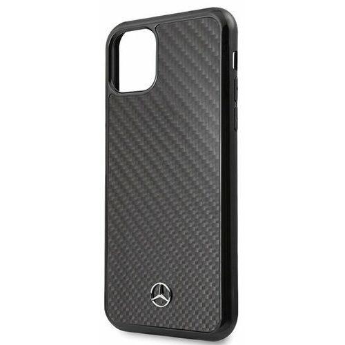 mehcn65rcabk iphone 11 pro max hard case czarny/carbon dynamic line marki Mercedes