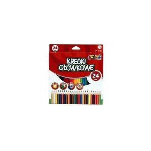 Kredki Premium Kolori ołówkowe 24 kolory PENMATE