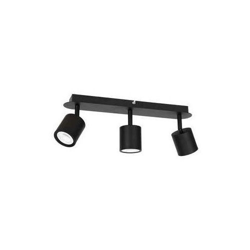 demia 1431 listwa plafon lampa sufitowa spot 3x8w gu10 czarny marki Luminex